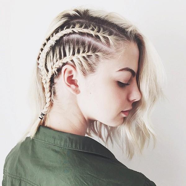 tóc chiến binh