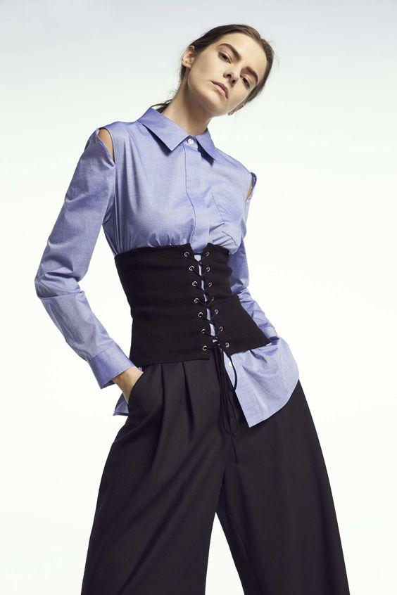 Cơn sốt áo nịt làm khuấy đảo cộng đồng thời trang