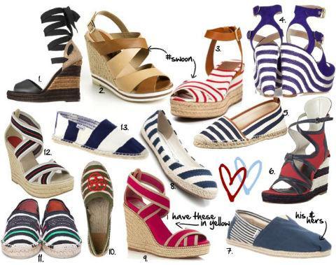 Giày làm từ nguyên liệu cói lạ mắt