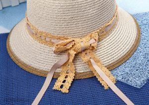 Những chiếc mũ cói làm điên đảo trong mùa hè này