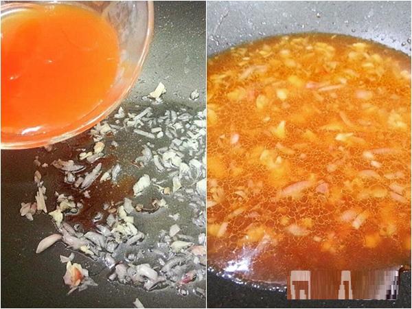 tom rim, cách làm tôm rim, cách làm tôm rim chua ngọt