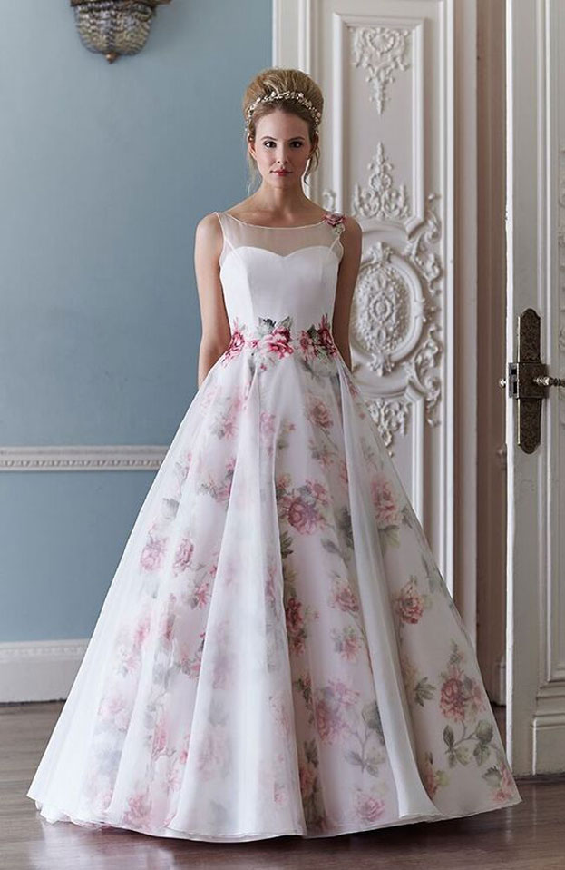 thời trang áo cưới, thời trang váy cưới, váy cưới hoa, thời trang áo cưới hoa