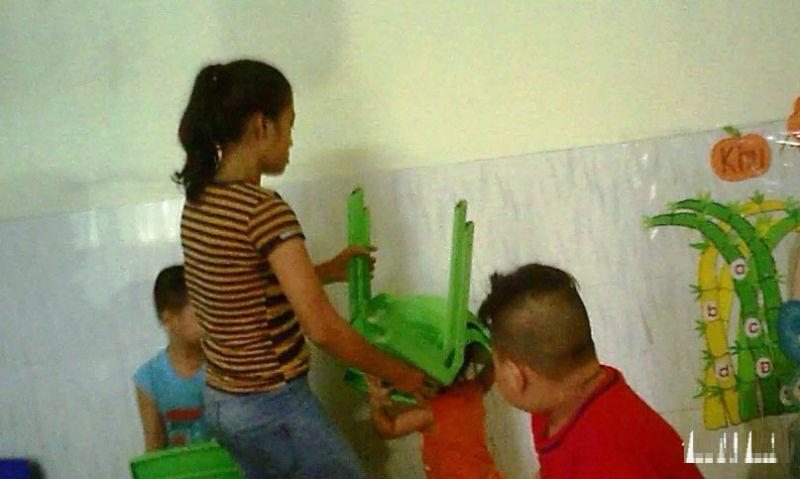 bắt tạm giam chủ cơ sở mầm xanh bạo hành trẻ mầm non