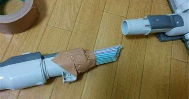 mẹo vặt với ống hút giúp cho nhà cửa tinh tươm