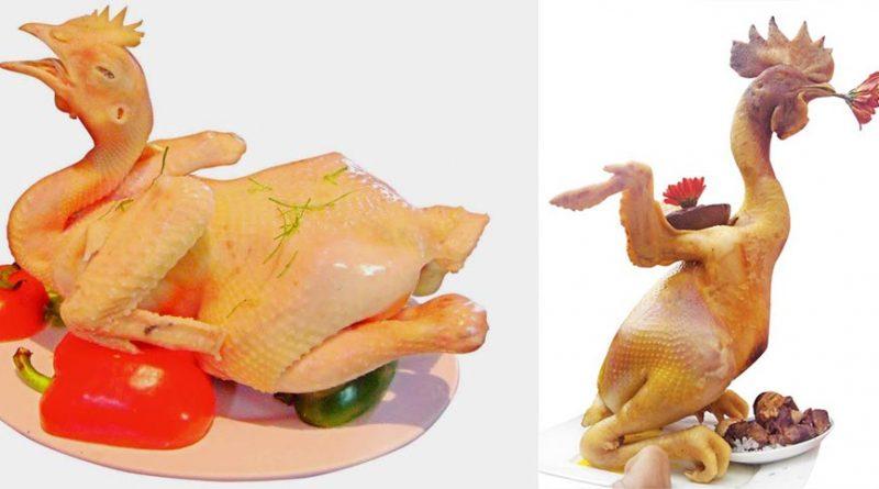 cách chọn gà luộc ngon, vàng rộm, không bị nứt, cánh tiên cúng giao thừa