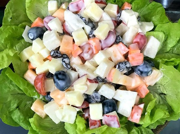 Học làm món salad ngon