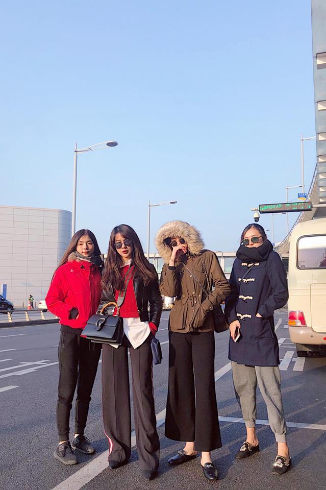 Thời trang chất lừ của người đẹp Việt ở xứ sở Kim Chi