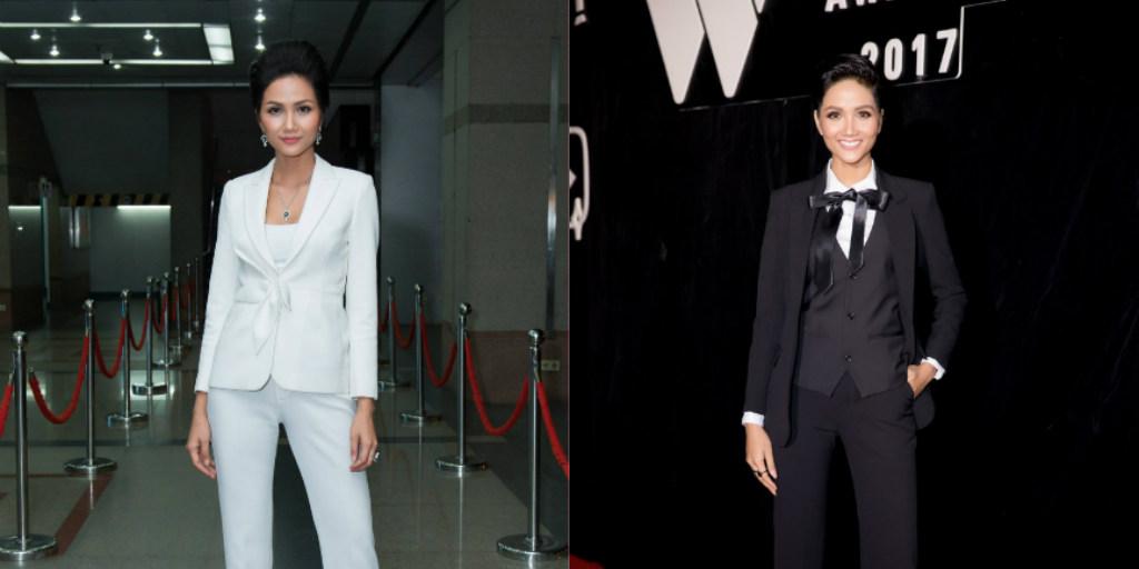 """Hoa hậu H'hen Niê với gu thời trang nam tính """"miễn chê"""""""