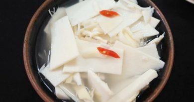 Cách muối măng chua