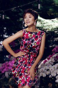 mặc váy hoa đẹp lộng lẫy như sao Việt