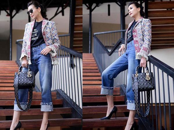 Thanh Hằng -Chị đại của The Face 2018 với gu thời trang đỉnh cao