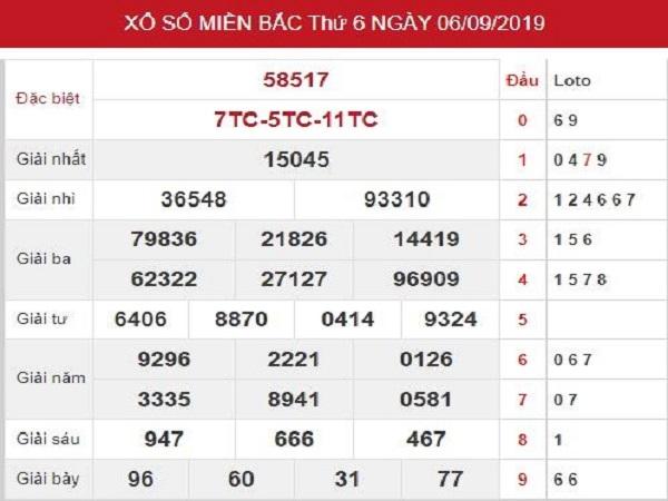 Thống kê KQXSMB ngày 07/09 tỷ lệ trúng rất cao