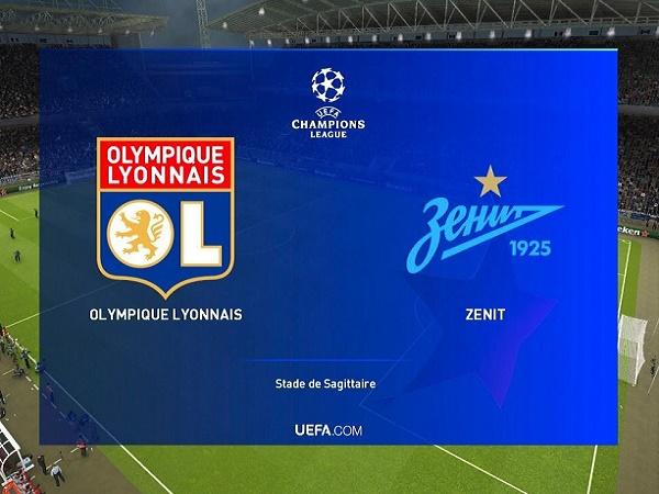 Nhận định Lyon vs Zenit, 23h55 ngày 17/09