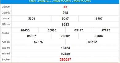 Thống kê XSDNA 3/6/2020 chốt KQXS Đồng Nai thứ 4