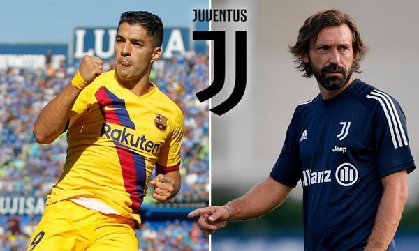 Tin thể thao 28/8: Pirlo rước Luis Suarez về đá cặp với Ronaldo