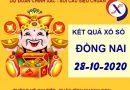 Thống kê kết quả SX Đồng Nai thứ 4 ngày 28-10-2020