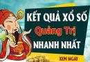 Soi cầu XS Quảng Trị chính xác thứ 5 ngày 01/10/2020