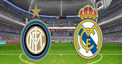 Inter Milan vs Real Madrid