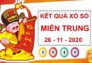 Thống kê KQSXMT thứ 5 ngày 26/11/2020