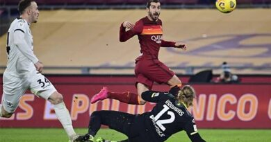 Tin bóng đá chiều 20/1: Roma bị loại khỏi Coppa Italia