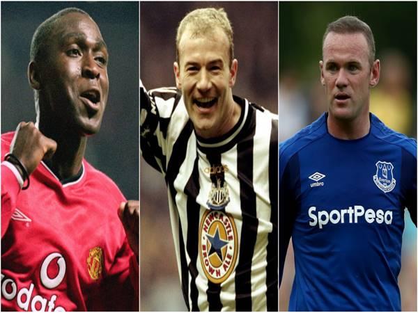 Top 3 cầu thủ ghi nhiều nhất Ngoại hạng Anh