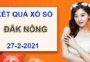 Thống kê XSDNO thứ 7 ngày 27/2/2021