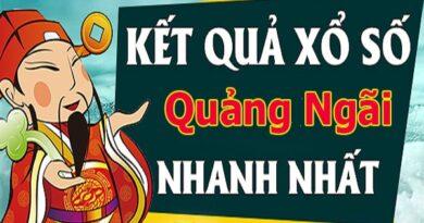 Soi cầu dự đoán xổ số Quảng Ngãi 22/5/2021 chính xác