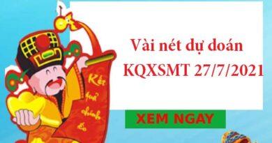 dự doán KQXSMT 27/7/2021