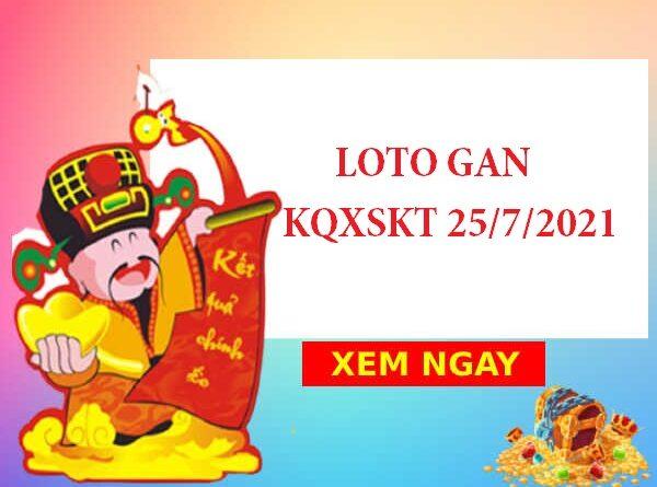 Loto gan KQXSKT 25/7/2021
