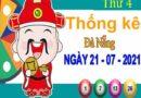 Thống kê XSDNG ngày 21/7/2021 – Thống kê KQXS Đà Nẵng thứ 4