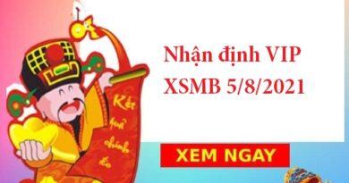 Nhận định VIP XSMB 5/8/2021