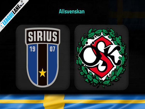 Soi kèo Sirius vs Orebro – 00h00 03/08/2021, VĐQG Thụy Điển
