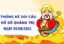Thống kê soi cầu xổ số Quảng Trị ngày 5/8/2021 hôm nay