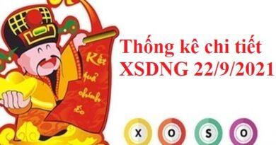 Thống kê chi tiết XSDNG 22/9/2021 – Chốt số DNG thứ 4