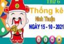 Thống kê XSNT ngày 15/10/2021 – Thống kê KQ Ninh Thuận thứ 6 chuẩn xác